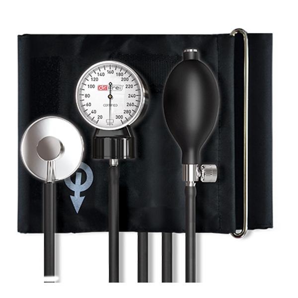 Dr.Frei A-20 – Aneroidní tonometr Dr.Frei A-20 je jednoduchý tlakoměr pro měření krevního tlaku auskultační metodou.