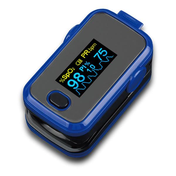 Pulzní oximetr Intec A310 – Pulzní oximetr je zařízení, které neinvazivně měří hladinu saturace kyslíku v krvi (SpO2). Tento přístroj je vhodný pro použití jak v domácnostech, tak nemocnicích.
