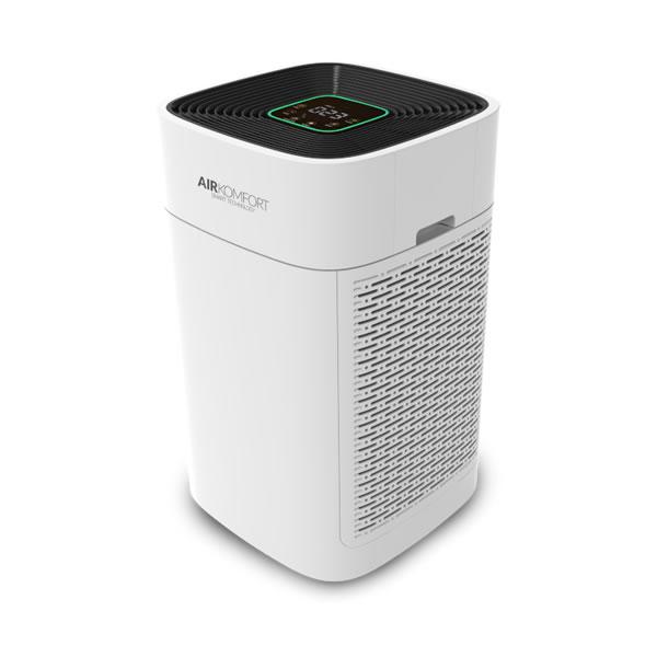AIRKOMFORT AC-08 – Vzduch, který dýcháte, se odráží na vašem zdraví. Udržujte plnou kontrolu nad jeho čistotou v interiérech, kde právě pobýváte.