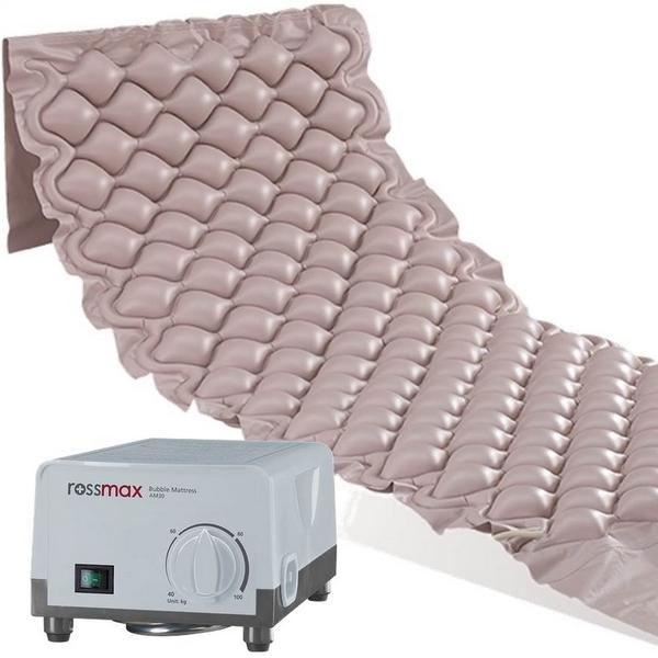 Rossmax AM30 – Aktivní antidekubitní matrace je nezbytnou pomůckou pro dlouhodobě ležící pacienty.