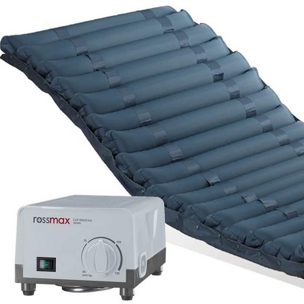 Rossmax AM40 – Aktivní antidekubitní matrace se vzduchovými lamelami je nezbytnou pomůckou pro dlouhodobě ležící pacienty.