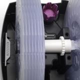 Bazar - BONECO W2055A - pohled zvrchu na disky a základovou vanu. Opět je dobře vidět zásobník aroma esence a také umístění stříbrné ionizační tyčinky, která zajišťuje hygienickou nezávadnost vody.