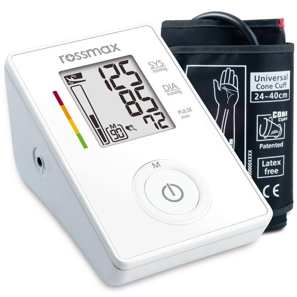 Rossmax CF155fCA – Jednoduchý automatický měřič krevního tlaku změří přesně a rychle krevní tlak.