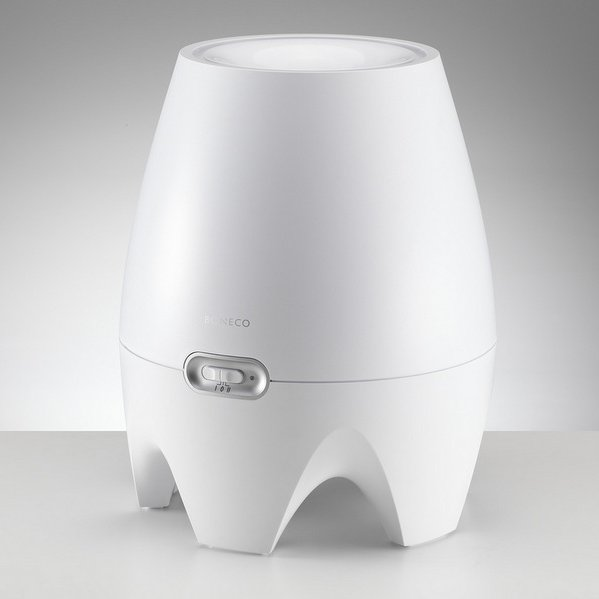 BONECO E2441 – Moderní zvlhčovač vzduchu s elegantním vzhledem a přirozeným principem zvlhčování se stal vítězem soutěže Red Dot Award za design. Kromě vzhledu zajisté oceníte snadnou obsluhu v podobě jednoduchého plnění vody do zásobníku a otočného ovládacího knof
