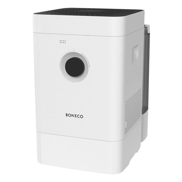 BONECO H400 – Hybridní přístroj Boneco H400 s unikátním systémem 3 v 1 dokonale upraví vzduch v místnosti. Ovládejte jej pomocí chytré aplikace Boneco.