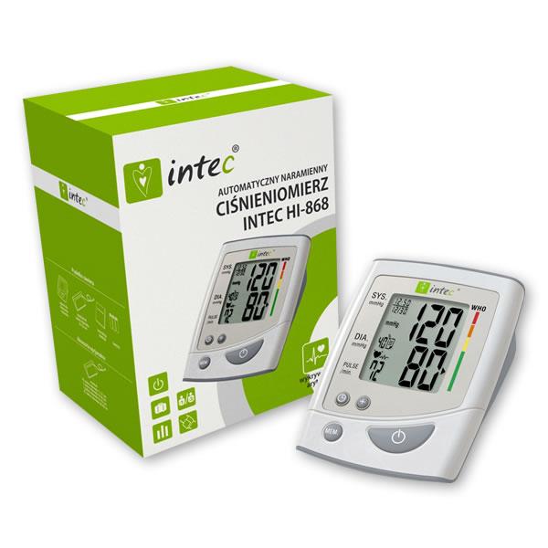 Intec Hl868 – Digitální měřič krevního tlaku Intec