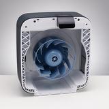 BONECO H680 - Vnitřní prostor přístroje je snadno dostupný pro údržbu a čištění.