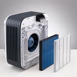 BONECO H680 - Předfiltr i hlavní filtr jsou sejmuty.