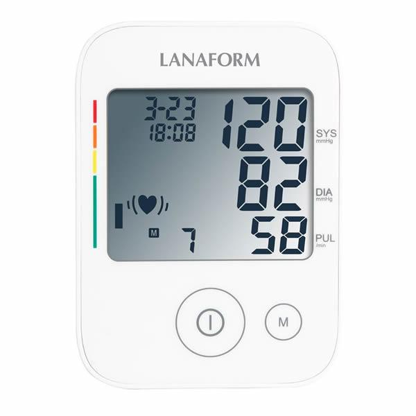 Lanaform ABPM-100 – Plně automatický měřič krevního tlaku s pamětí na 4 x 30 záznamů. Zjistěte hodnoty vašeho krevního tlaku a tepové frekvence z pohodlí domova.