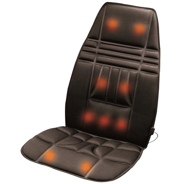 Lanaform Tonic Mass – Masážní podložka do auta i kanceláře promění běžné křeslo na masážní křeslo.
