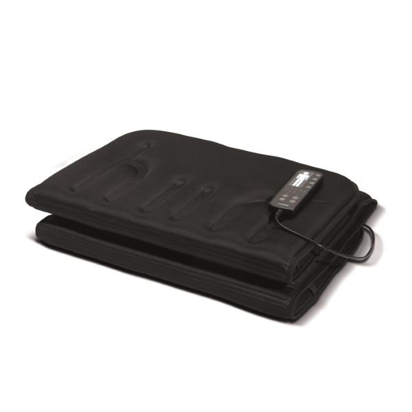 Lanaform Massage mattress – Nastavte si masáž na přání. Masážní vibrační přístroj Lanaform Massage Mattress je vybaven deseti motory a dvěma hřejícími zónami.