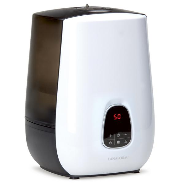 Lanaform Notus – Ultrazvukový zvlhčovač vzduchu Lanaform Notus s velkým množstvím funkcí a s regulací výkonu v širokém rozsahu vytvoří zdravé a příjemné prostředí v domácnosti. Odbourejte pocit sucha, elektrizující vlasy a dýchací potíže.