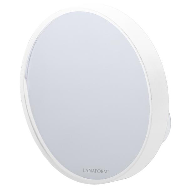 Lanaform Pop Mirror – Kosmetické zrcátko s desetinásobným zvětšením je určené pro přesné a detailní nalíčení.