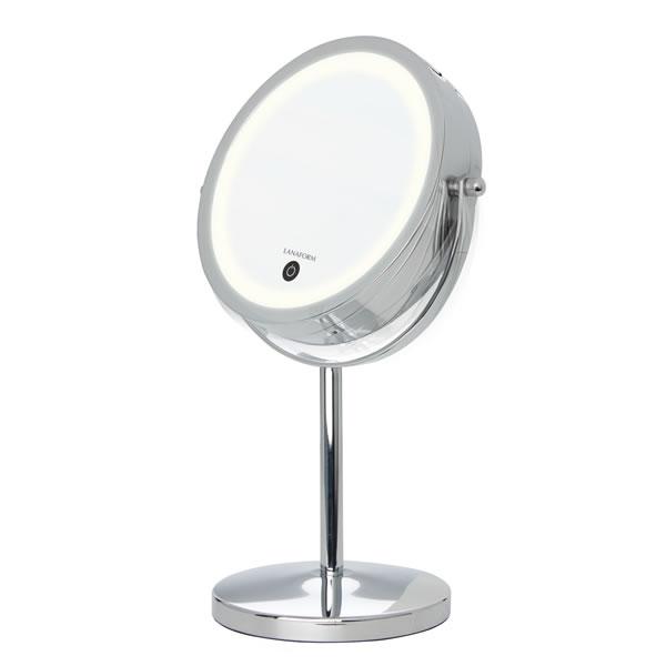 Lanaform Stand Mirror – Elegantní oboustranné zrcátko s podstavcem.