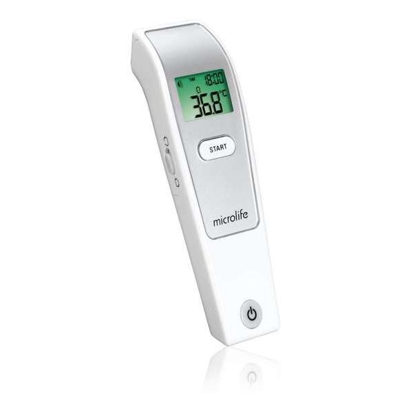 Microlife NC150 – Bezkontaktní teploměr Microlife NC150 pro ryclé a přesné měření tělesné teploty.