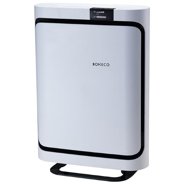 BONECO P500 – Čistička vzduchu BONECO P500 je díky špičkovým čistícím parametrům velmi vhodným přístrojem pro úpravu vzduchu alergikům, astmatikům a všem dalším osobám s dýchacími obtížemi. Mimo to zajisté oceníte možnost použití aroma olejů a výběr ze 3 druhů fil