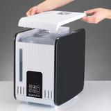 S450 - sejmutí horního krytu. Je nutné ho sejmout v případě doplňování vody a čištění přístroje.