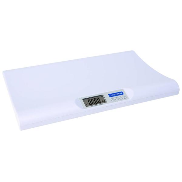 Lanaform Baby Scale – Kojenecká váha pro snadné a přesné zjištění hmotnosti novorozenců a kojenců.