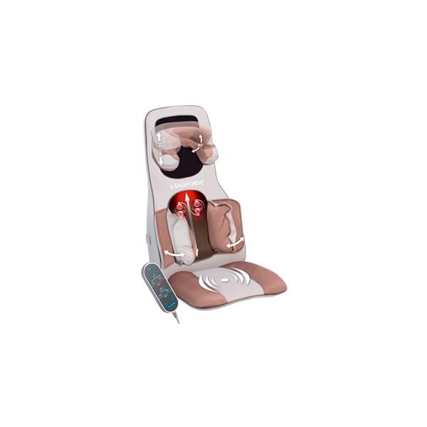 Lanaform Excellence®  – Masážní křeslo Lanaform Excellence nabízí relaxaci v podobě masáže Shiatsu a Kompresorové masáže