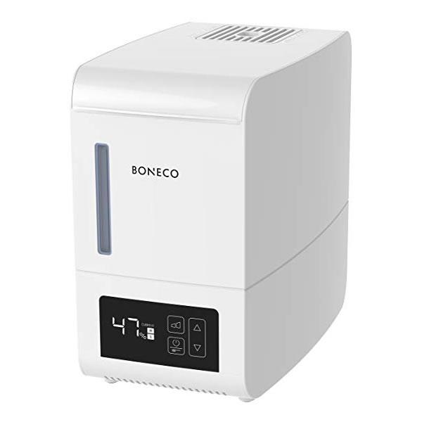 BONECO S250 – Zpříjemněte si domov díky parnímu zvlhčovači Boneco S250 s nastavitelnou výpustí páry a intuitivním ovládáním.
