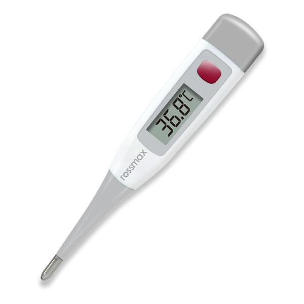 Rossmax TG380 – Digitální teploměr švýcarské firmy Rossmax s ohebným hrotem k rychlému zjištění teploty. Výsledek měření zjistíte již během 10 vteřin.