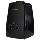Ultrazvuk AOS U600b černý – Výkonný ultrazvukový zvlhčovač vzduchu s mechanickou regulací a s membránou s titanovým povrchem, která má zvýšenou životnost a odolnost.