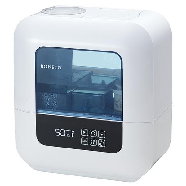 BONECO U700 – Výkonný ultrazvukový zvlhčovač vzduchu s inteligentní automatikou je vhodný do prostorů s podlahovou plochou až 80 čtverečních metrů.