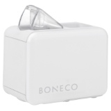BONECO U7146 – Ultrazvukový zvlhčovač Boneco U7146 je díky své velikosti vhodný na cestování. Velkou výhodou je variabilita zásobníku na vodu, kdy přímo na přístroj našroubujete běžně dostupnou PET láhev. Díky tomuto přístroji můžete mít zvlhčovač stále u sebe.