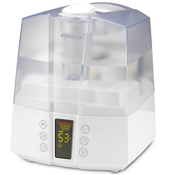 BONECO U7147 – Komfortní ultrazvukový zvlhčovač vzduchu z rodiny Boneco navodí příjemné domácí prostředí. U700 je skvělou volbou pro všechny, kteří chtějí dýchat zdravý vzduch. Je vybaven několika užitečnými funkcemi a bohatým příslušenstvím.