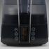 BONECO U7147 - deailní pohled na displej a ovládací panel černé varianty