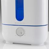 U200 - při provozu je možné zapnout modré prosvícení zásobníku vody