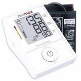 Rossmax X1 – Automatický tlakoměr s velmi jednoduchou obsluhou změří krevní tlak snadno, rychle a přesně.