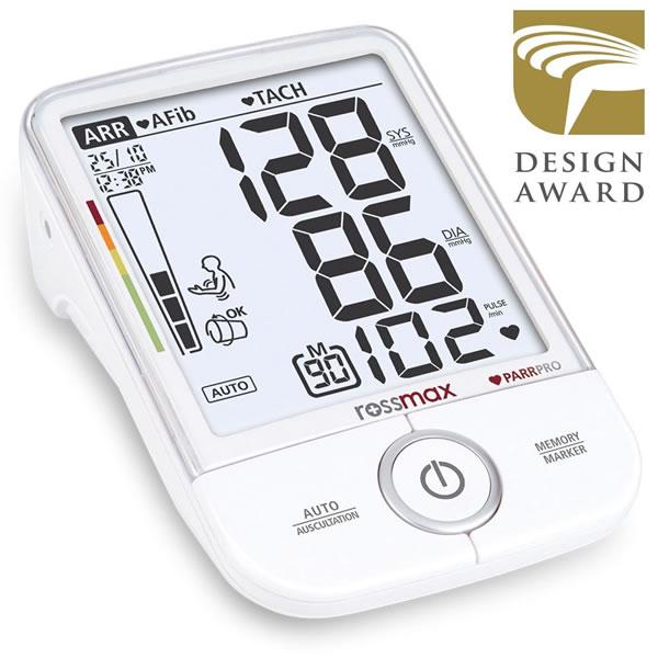 Rossmax X9 – Profesionální tlakoměr Rossmax X9 včas odhalí celou řadu srdečních onemocnění.